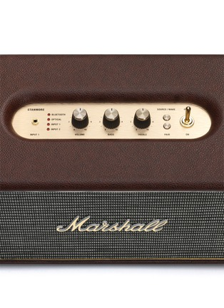 Detail View - Click To Enlarge - Marshall - Stanmore Loudspeaker - Brown