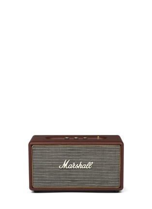 Main View - Click To Enlarge - Marshall - Stanmore Loudspeaker - Brown