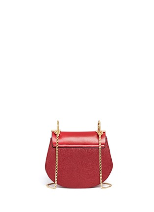 Back View - Click To Enlarge - Chloé - 'Drew' mini leather shoulder bag
