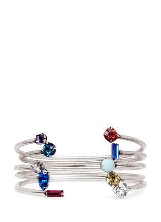 Main View - Click To Enlarge - Dannijo - 'Amista' Swarovski crystal cuff set