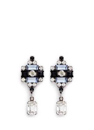 Main View - Click To Enlarge - Dannijo - 'Aix' Swarovski crystal drop earrings