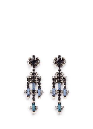 Main View - Click To Enlarge - Dannijo - 'Adore' Swarovski crystal chandelier drop earrings