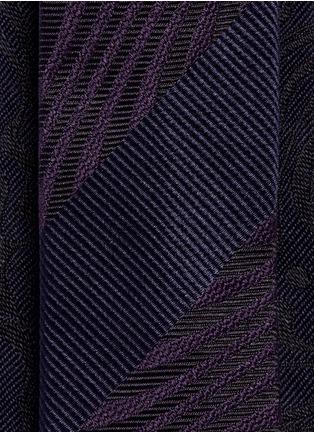 Detail View - Click To Enlarge - Dries Van Noten - Psychedelic jacquard silk tie