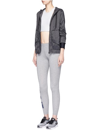 Figure View - Click To Enlarge - Nike - 'Leg-A-See' slogan print sports leggings