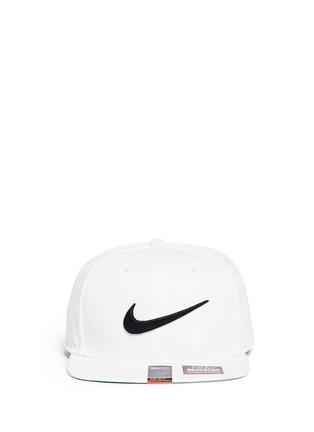 Main View - Click To Enlarge - Nike - 'Swoosh Pro' patch appliqué baseball cap