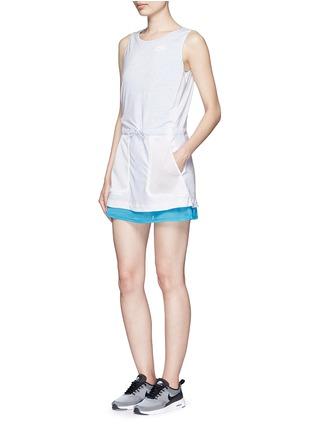Figure View - Click To Enlarge - NIKE - 'AS Nike Premium Pack' mesh jersey dress