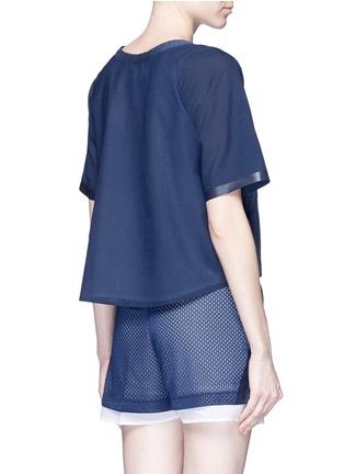 Back View - Click To Enlarge - Nike - 'AS Nike Premium Pack' mesh underlay T-shirt