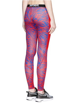 Detail View - Click To Enlarge - Nike - 'Leg-A-See' print performance leggings