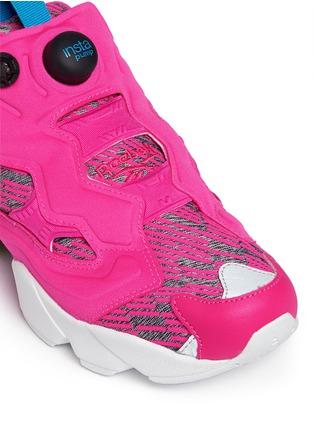 Detail View - Click To Enlarge - Reebok - 'Instapump Fury Celebrate' slip-on sneakers