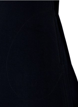 Detail View - Click To Enlarge - Norma Kamali - Bonded jersey swing dress