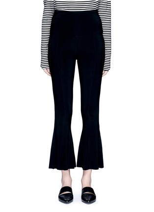 Main View - Click To Enlarge - Norma Kamali - Cropped fishtail pants