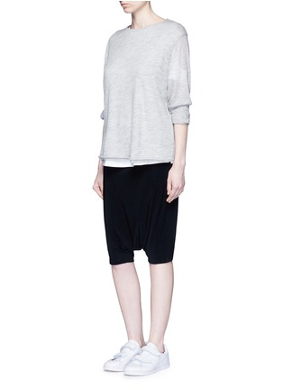 Figure View - Click To Enlarge - NORMA KAMALI - Dolman pants