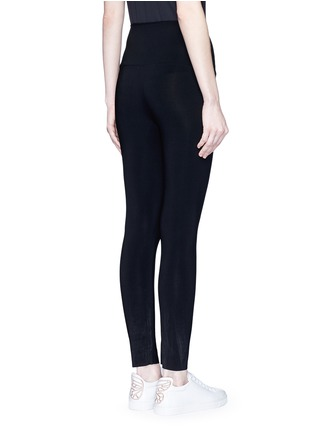 Back View - Click To Enlarge - Norma Kamali - Stretch jersey leggings