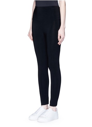 Front View - Click To Enlarge - Norma Kamali - Stretch jersey leggings