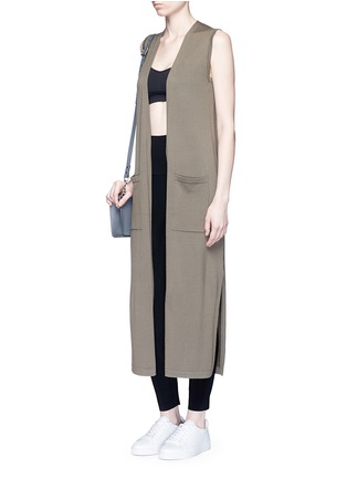 Figure View - Click To Enlarge - Norma Kamali - Stretch jersey leggings