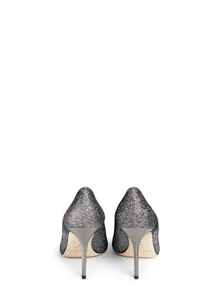 Back View - Click To Enlarge - Jimmy Choo - Agnes' lamé glitter pumps