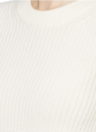 Detail View - Click To Enlarge - Theory - 'Barda' wool-cashmere sweater