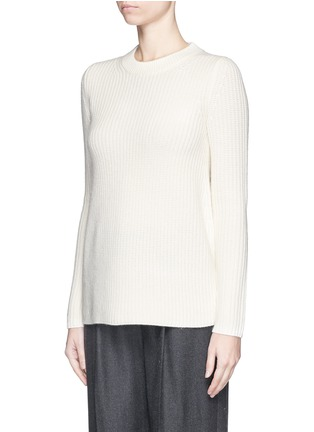 Front View - Click To Enlarge - Theory - 'Barda' wool-cashmere sweater