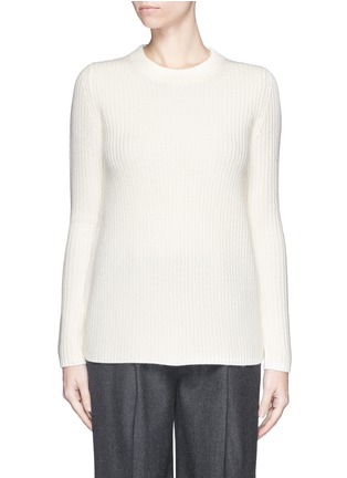 Main View - Click To Enlarge - Theory - 'Barda' wool-cashmere sweater