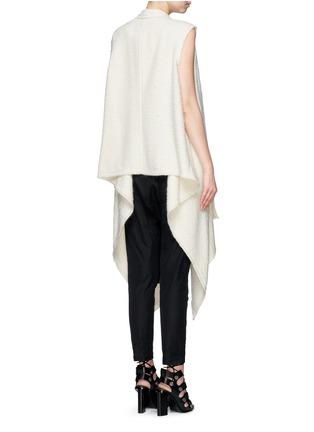 Back View - Click To Enlarge - Isabel Marant - 'Felicia' alpaca drape long vest
