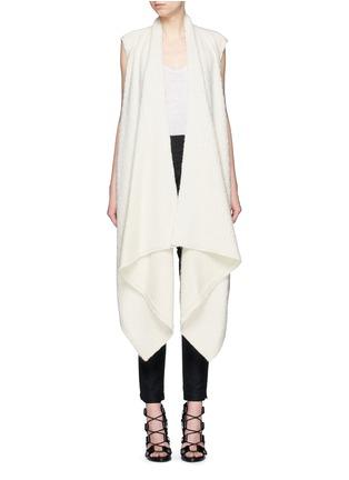 Main View - Click To Enlarge - Isabel Marant - 'Felicia' alpaca drape long vest