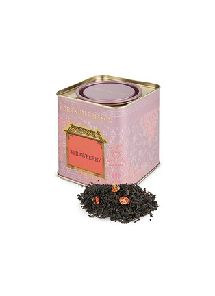 Main View - Click To Enlarge - Fortnum & Mason - Black loose leaf tea and strawberry tin
