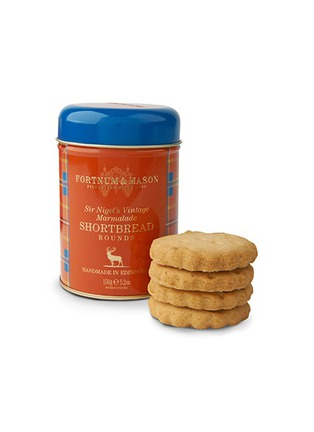 Main View - Click To Enlarge - Fortnum & Mason - Sir Nigels vintage marmalade shortbread tin
