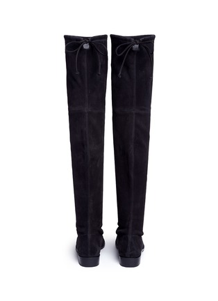 Back View - Click To Enlarge - Stuart Weitzman - 'Lowland' knee high stretch suede boots