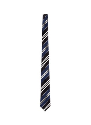 Main View - Click To Enlarge - Paul Smith - Stripe silk tie