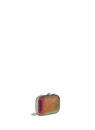 Figure View - Click To Enlarge - Judith Leiber - 'Slide Lock' crystal pavé minaudière