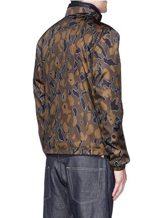 Back View - Click To Enlarge - Moncler - 'Capbreton' camouflage print windbreaker jacket