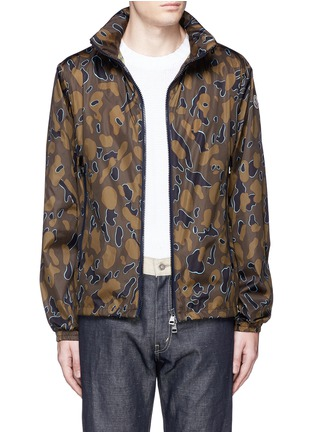 Main View - Click To Enlarge - Moncler - 'Capbreton' camouflage print windbreaker jacket