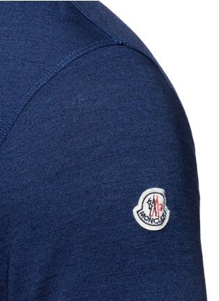 Detail View - Click To Enlarge - MONCLER - Slub jersey T-shirt