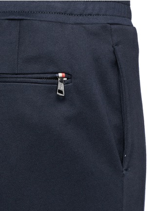 Detail View - Click To Enlarge - Moncler - Cotton French terry jogging pants