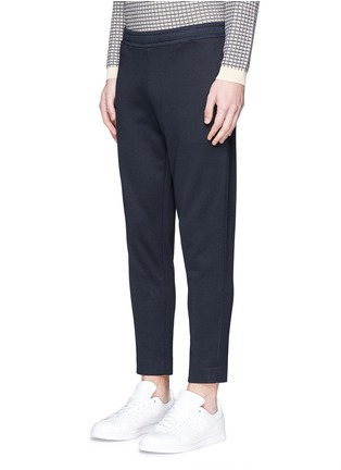 Front View - Click To Enlarge - Moncler - Cotton French terry jogging pants