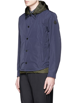 Front View - Click To Enlarge - Moncler - 'Karim' double layer jacket