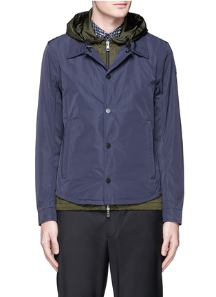 Main View - Click To Enlarge - Moncler - 'Karim' double layer jacket