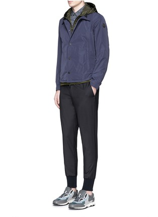 Figure View - Click To Enlarge - MONCLER - 'Karim' double layer jacket