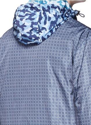 Detail View - Click To Enlarge - Moncler - 'Tristan' reversible hood jacket