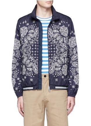Main View - Click To Enlarge - Moncler - 'Danny' bandana print windbreaker jacket