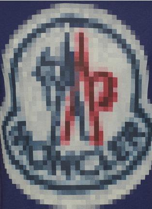 Detail View - Click To Enlarge - Moncler - Pixel logo print T-shirt
