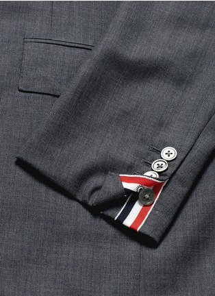 - Thom Browne - Wool step twill suit