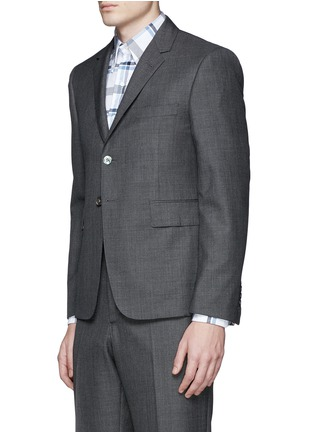 Front View - Click To Enlarge - Thom Browne - Wool step twill suit