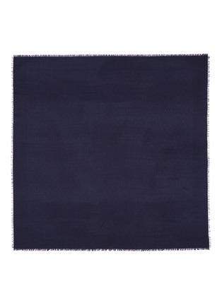 Main View - Click To Enlarge - Valentino - 'V' logo jacquard silk-wool scarf