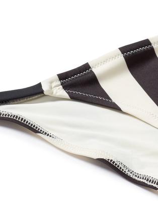 Detail View - Click To Enlarge - SOLID & STRIPED - The Morgan Bottom' stripe bikini bottoms