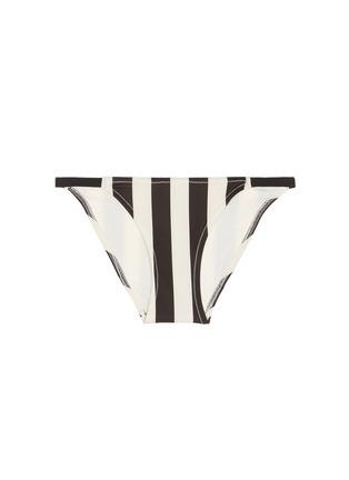 Main View - Click To Enlarge - SOLID & STRIPED - The Morgan Bottom' stripe bikini bottoms