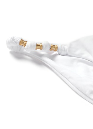 Detail View - Click To Enlarge - ViX - 'Paula' bead knot bikini bottom