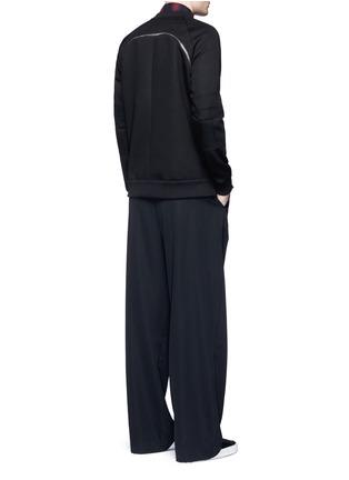 Figure View - Click To Enlarge - Givenchy - Zip neoprene sweatshirt