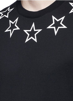 Detail View - Click To Enlarge - Givenchy - Star print cotton T-shirt
