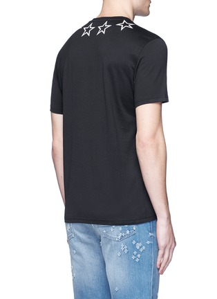 Back View - Click To Enlarge - Givenchy - Star print cotton T-shirt